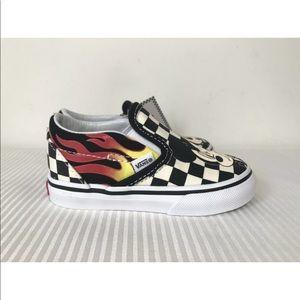 Vans Shoes - Vans x Disney Slip-On Mickey & Minnie Sneakers